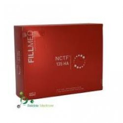 Fillmed  NCTF  135 HA , by Filorga -Kit de 5 viales-Mesoterapia Facil
