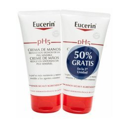 Eucerin crema manos pack 2 x 75 ml