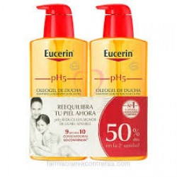 Eucerin oleogel 1000ML  pack x 2