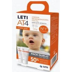 Leti AT4 crema facial pack x 2