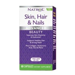 Natrol Skin, Hair & Nails 60 cápsulas