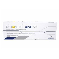 Sinovial One 2%  2.5 ml 1 ampolla